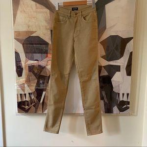 Neuw Marilyn High Rise skinny jeans pants in tan